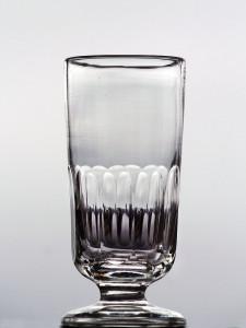 halv facett fotglas